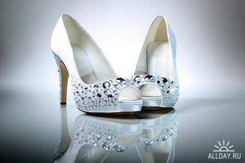 Растровый клипарт - Женские туфли
