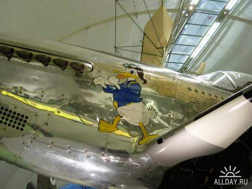 Американский истребитель P-51D Mustang