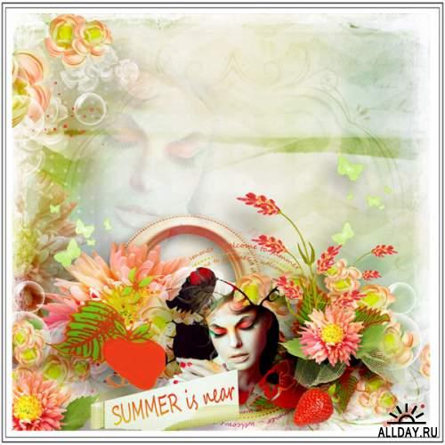 Скрап-набор Summer is near