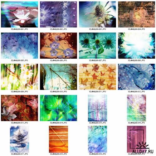 Image DJ. Magic Layer IDJ-ML009 Flower & Leaf Play