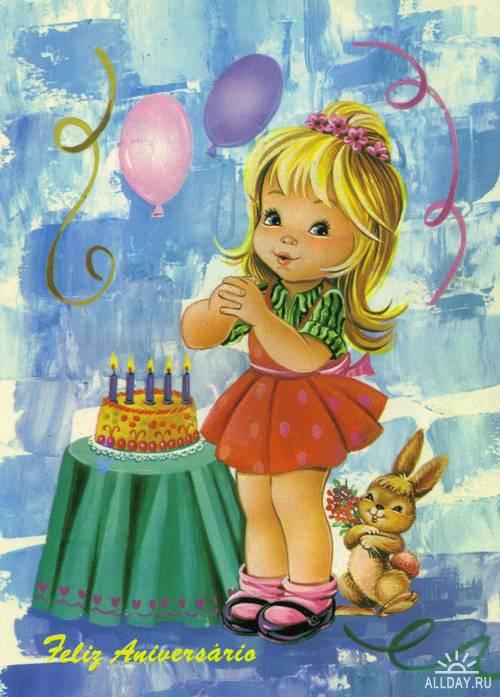 Cards Happy Birthday 2 | Открытки - поздравления С днем рождения и днем ангела