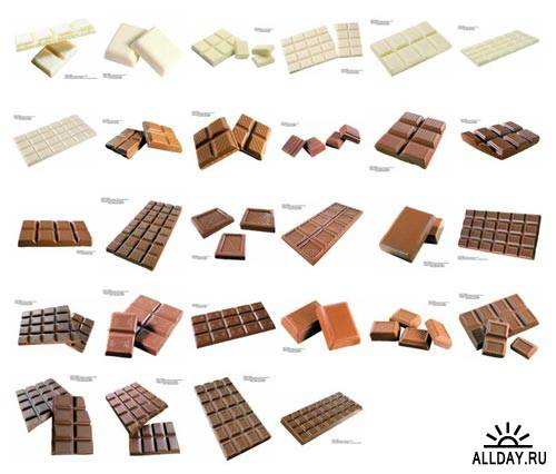 Шоколад и конфеты / Chocolate (Izosoft - IZ045)