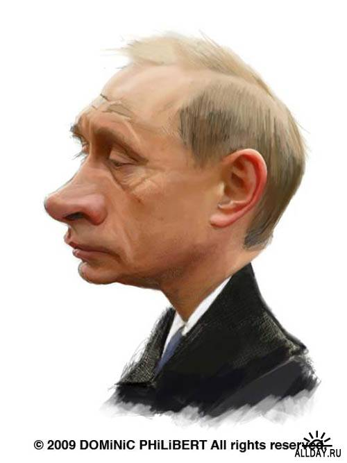 Карикатуры Dominic Philibert