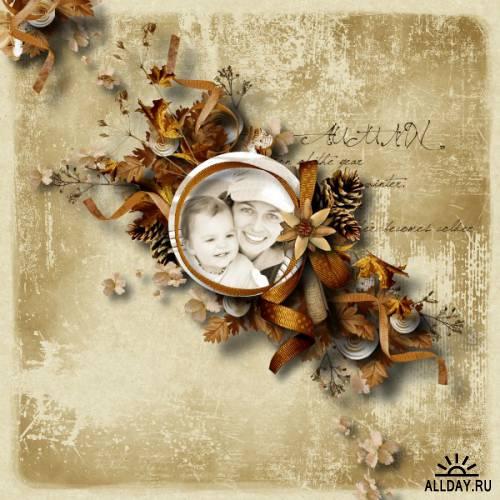 Скрап-набор  Old songs fall