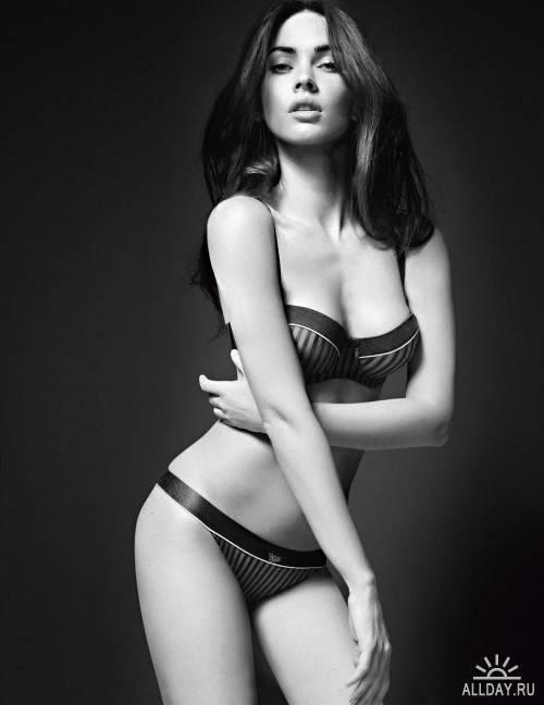 Megan Fox - Photoshoot for Armani