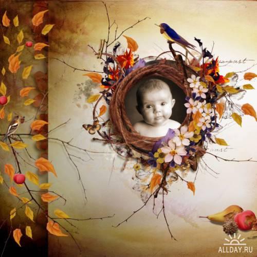 Осенние скрап-странички