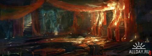 Цифровой художник Titus Lunter (новые работы 2011 года)