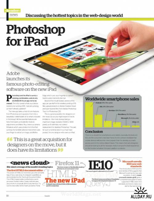Web Designer - Issue 195, 2012
