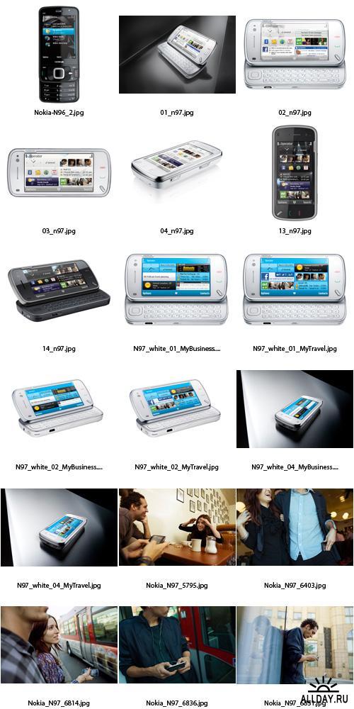 Stock Photo - Mobile Phones (Nokia N-Series)
