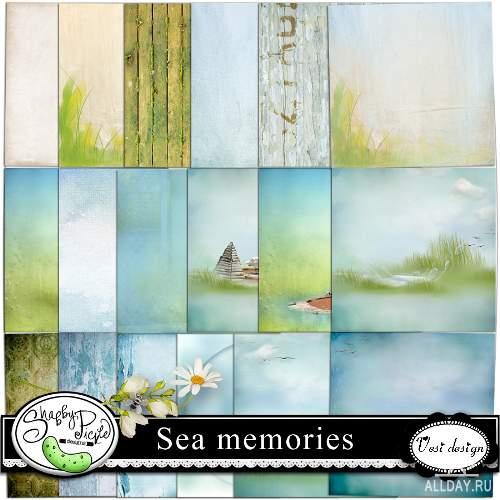 Скрап-набор - Sea Memories
