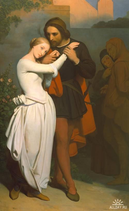 Живописец Ary Scheffer (1795-1858)