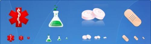Медицинские иконки (46 иконок)