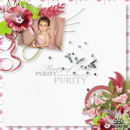 Скрап-набор - Purity